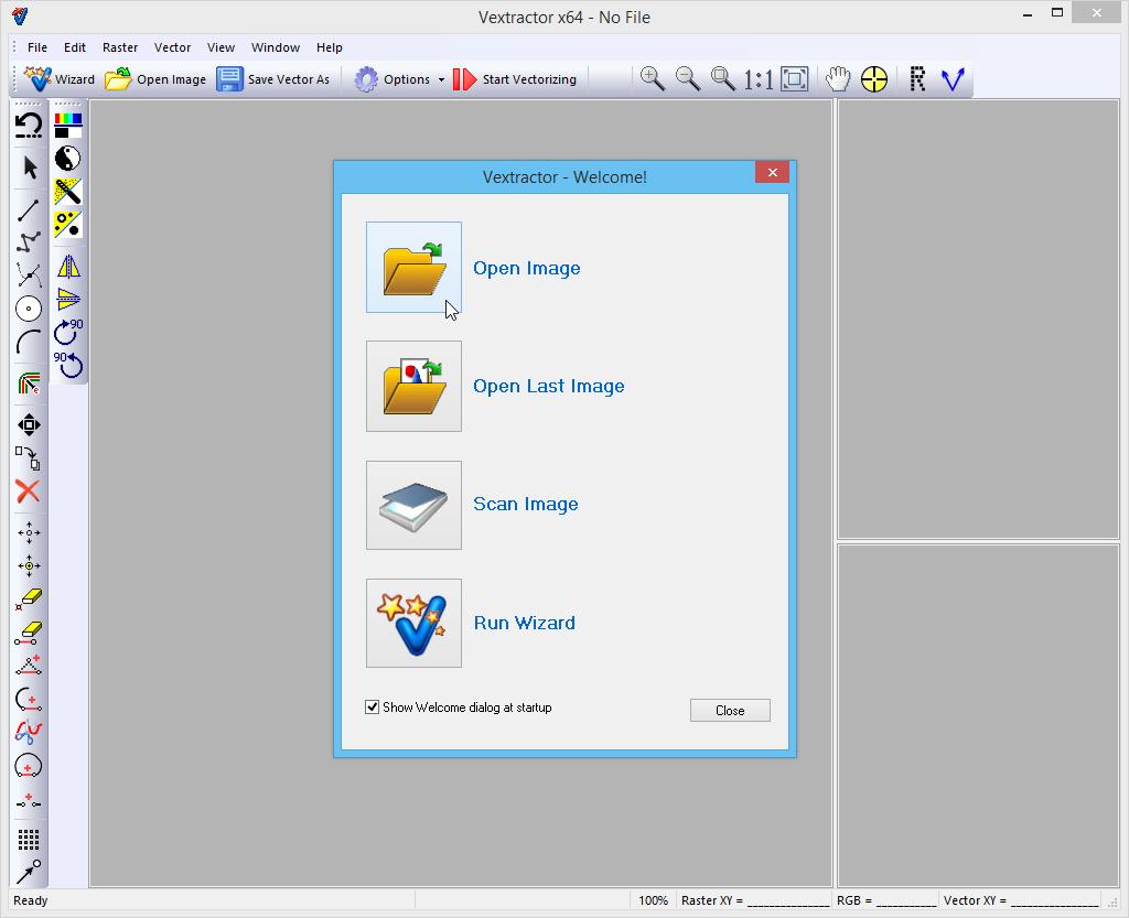 Vextractor – Programa para Vectorizar Imagenes